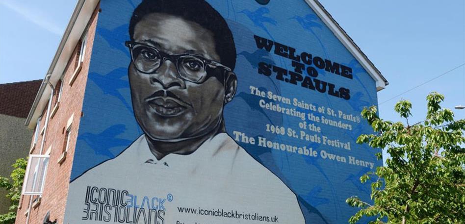 The Seven Saints of St Pauls Murals - Black History Month