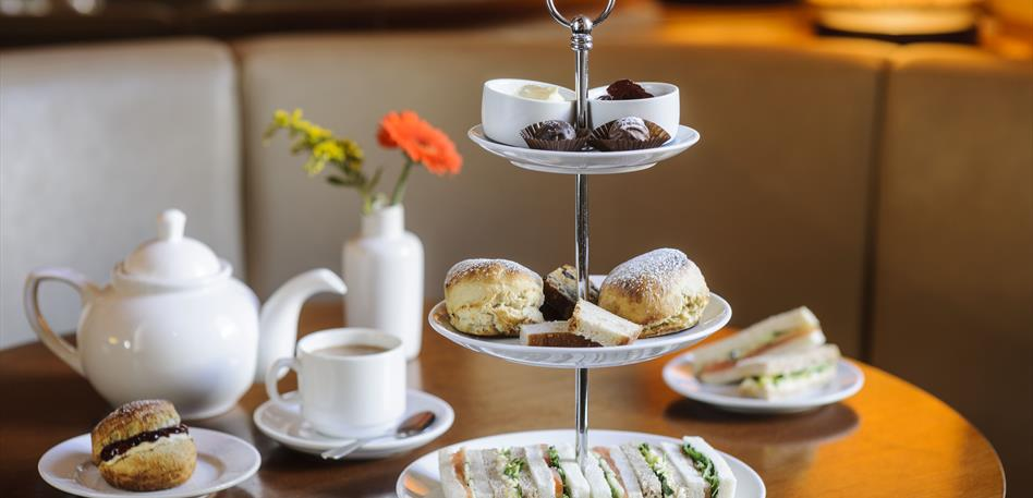 Afternoon tea at The Avon George Hotel