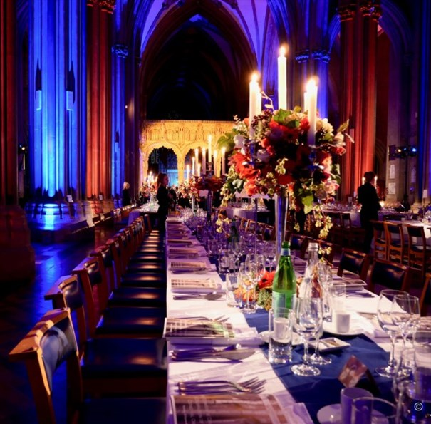 Meet bristol - Bristol Cathedral Fitzharding Dinner