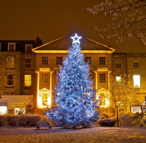 Meet Bristol - Christmas Parties in Bristol - Clifton Village Christmas Tree