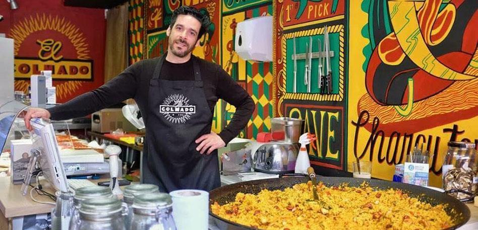 El Colmado Spanish Food & Deli Shop. Image Anne-Louise Perez