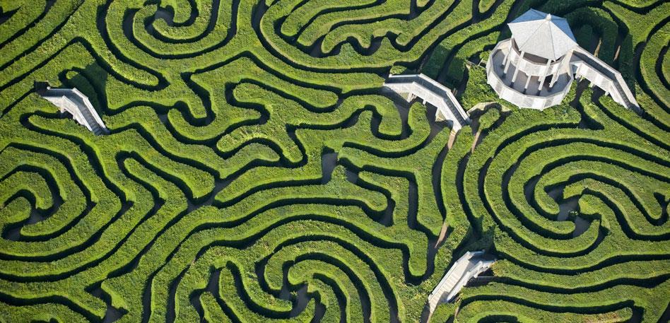 Longleat Maze - credit Longleat