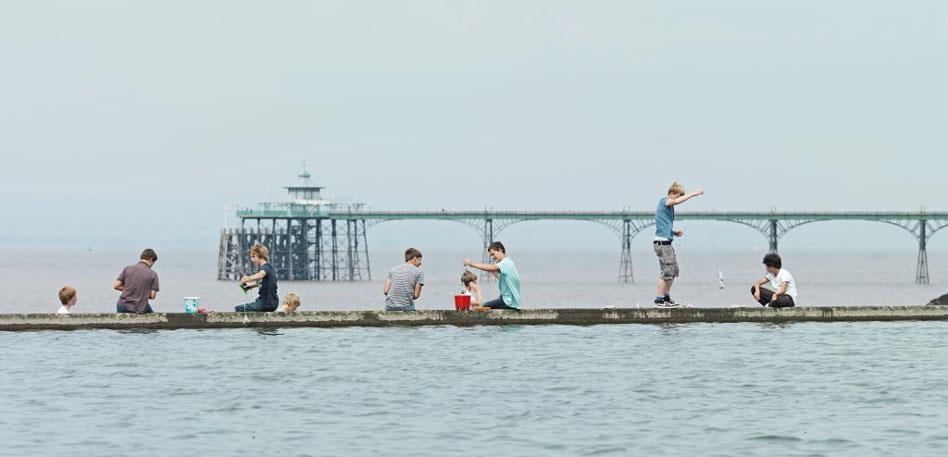 Marine Lake at Clevedon