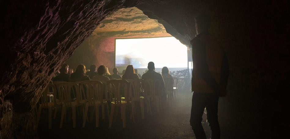Bristol Film Festival in Redcliffe Caves