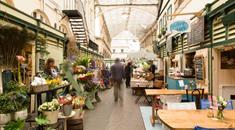 Markets in Bristol - St Nicholas Market, St Nicks Market - CREDIT Visit England