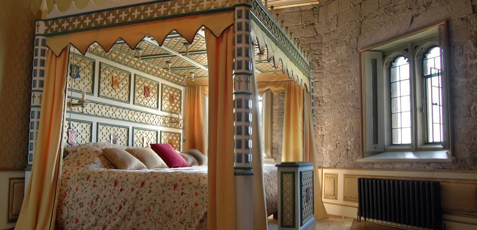 Thornbury Castle Bedroom