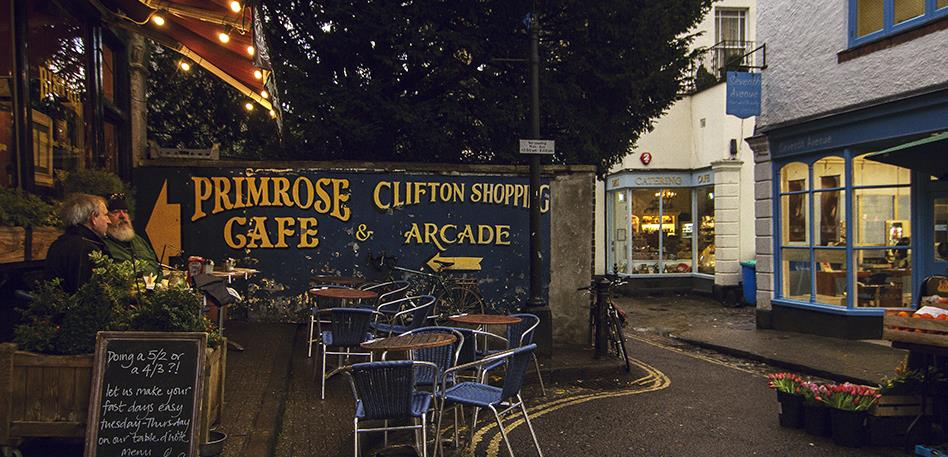 Clifton arcade from outside - Image: Morgane Bigault