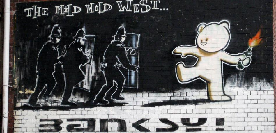 Find Banksy's artworks around the city