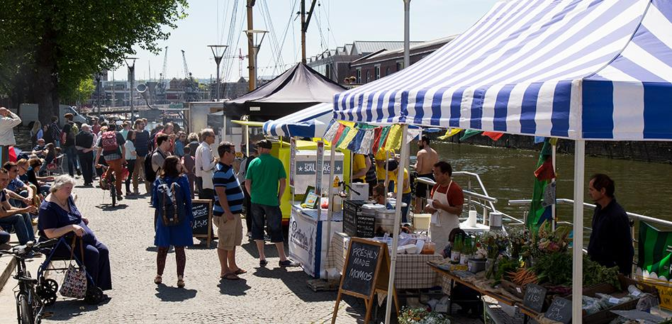 Bristol markets - Harbourside market