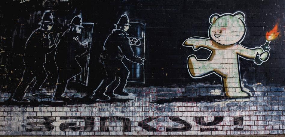 Meet Bristol - Things To Do - Banksy's Mild Mild West