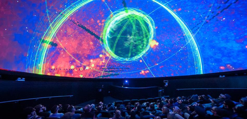 High Tech in Bristol: Planetarium We The Curious