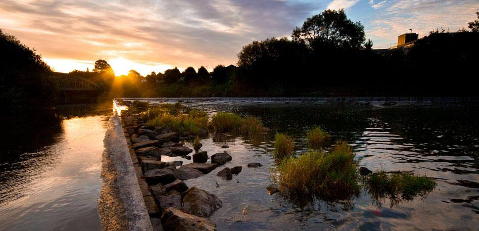 Netham Weir East Bristol - Image Jehan Shaw