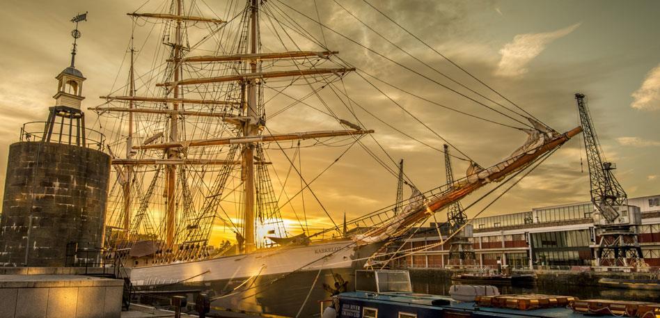 Kaskelot in Bristol Harbourside - Image Philip Clark