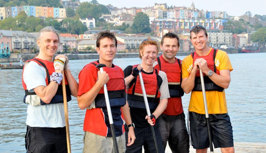 Adventurous Activity Company canoeing trip Bristol