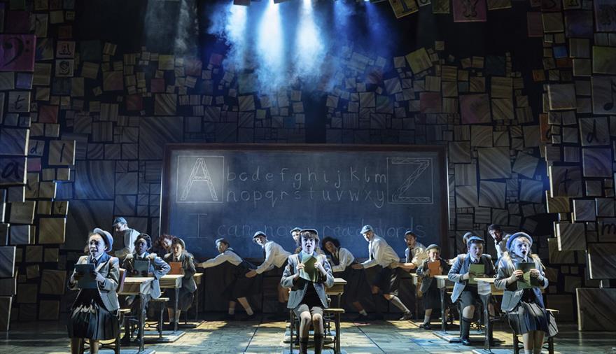 Royal Shakespeare Company's Matilda The Musical at Bristol Hippodrome