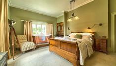 Backwell House bedroom