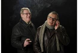 Blokes of a Feather: An Evening with Laurence Marks and Maurice Gran at Redgrave Theatre