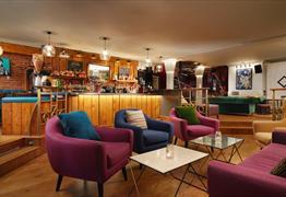 The Berkeley Square Hotel Bristol lounge area
