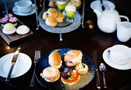 Afternoon Tea snacks at Hotel du Vin & Bistro