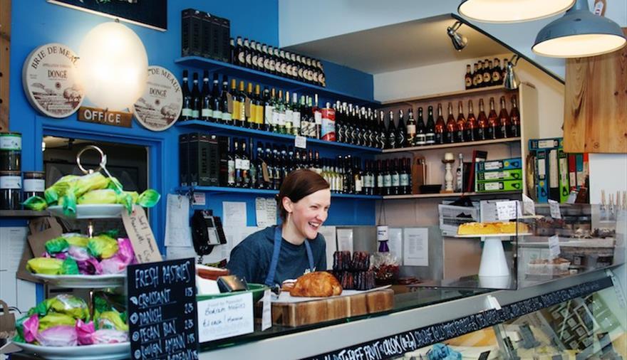 Papadeli cafe counter