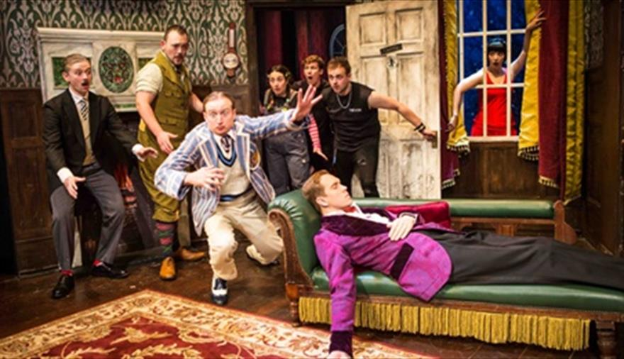 The Play That Goes Wrong at Bristol Hippodrome