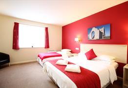 Wookey Hole Hotel room