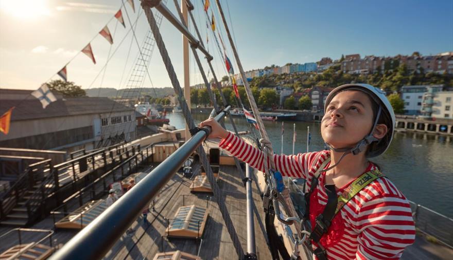 Brunel's SS Great Britain Bristol - Go aloft