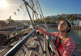 Brunel's SS Great Britain Bristol - Go aloft
