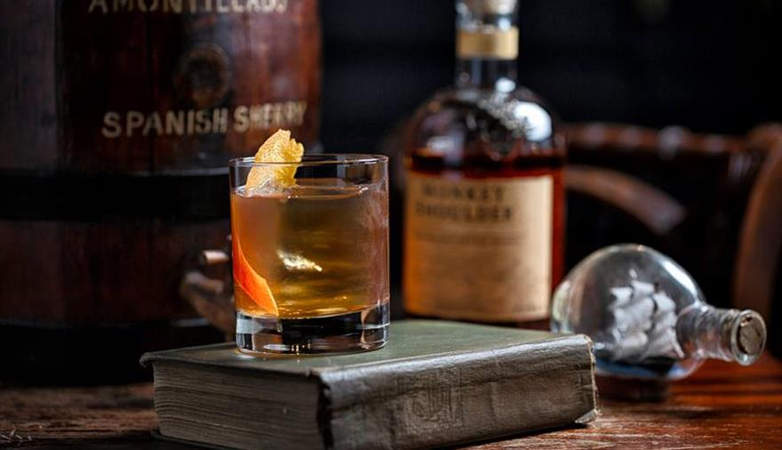 The Milk Thistle Bristol whisky cocktail
