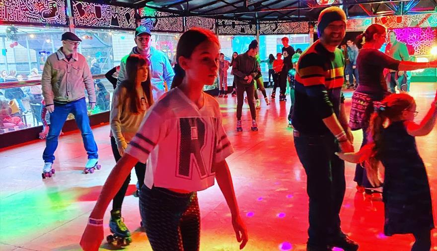 Bump Rollerdisco in Millennium Square