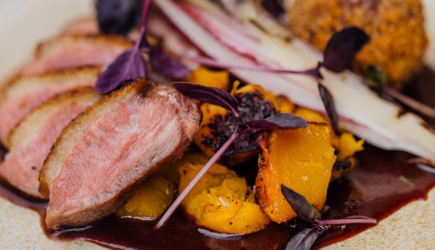 Dish at Aqua Welshback