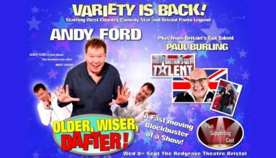 Andy Ford: Older, Wiser, Dafter!