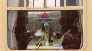 Have dinner on The Pine Express