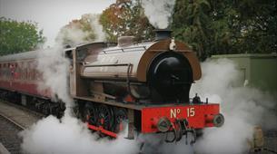 Afternoon Tea on a steam locomotive at the Avon Valley Railway