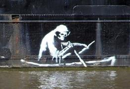 Banksy Graffiti The Grim Reaper Bristol