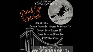 Brews, Boos & Booze: Bottomless Afternoon Tea at Clifton Observatory