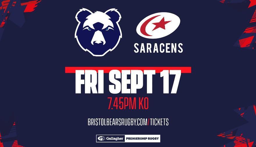 Bristol Bears v Saracens at Ashton Gate Stadium