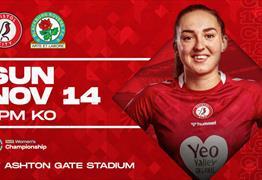 Bristol City Women v Blackburn Rovers at Ashton Gate Stadium