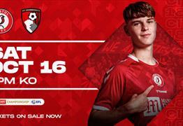 Bristol City v AFC Bournemouth at Ashton Gate Stadium