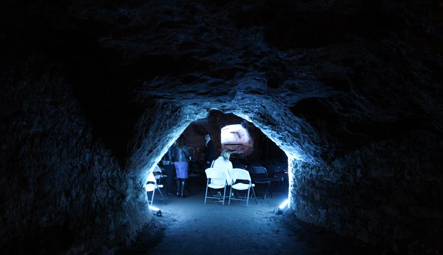 Bristol Film Festival: Horror In The Caves at Redcliffe Caves