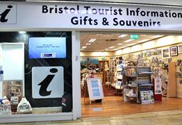 Bristol Tourist Information Centre Shop Front