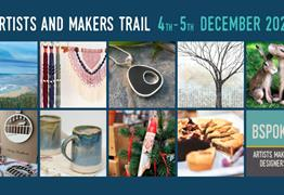Bspoke16 Artists, Makers and Designers Festive Trail