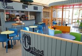 C-shed Café at Bristol Aquarium