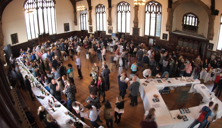Averys Celebration of Wine Event - Session 1 and 2 - at Bristol Grammar School