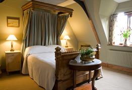 Chaplain's House at Tyntesfield bedroom