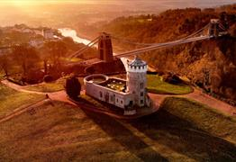 Clifton Observatory and Suspension Bridge