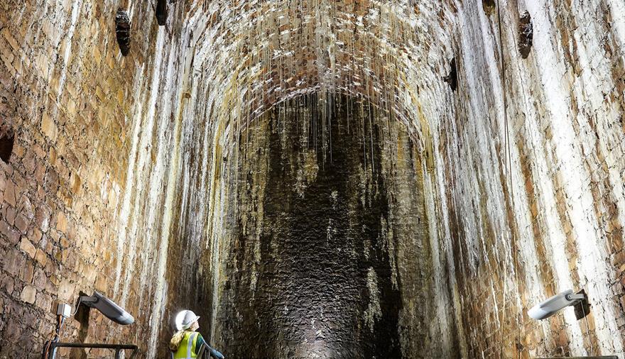 Tour the hidden vaults at The Clifton Suspension Bridge