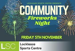 Community Fireworks Night at Lockleaze Sports Centre