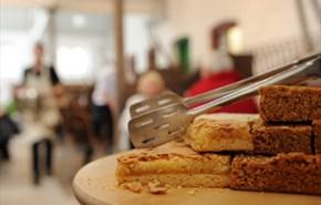 Cake at The Cow Barn at Tyntesfield