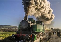 Drive a steam locomotive at the Avon Valley Railway